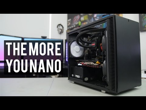 Building in the Nano S from Fractal Design - Build & Review!