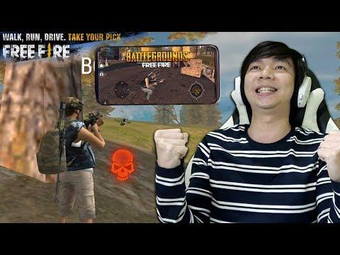 PUBG Versi HP - Free Fire: Battlegrounds - Indonesia