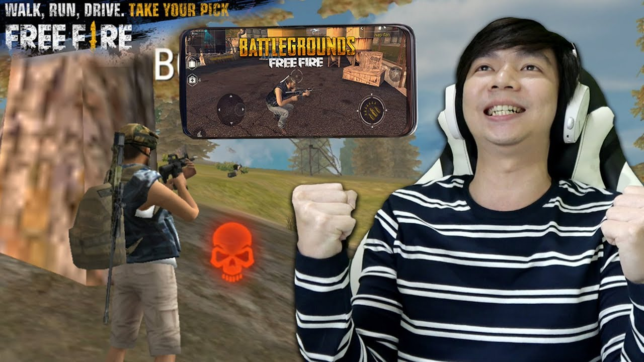 PUBG Versi HP - Free Fire: Battlegrounds - Indonesia - YouTube