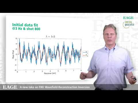 EAGE E-Lecture: A New Take On FWI: Wavefield-Reconstruction Inversion by Felix Herrmann