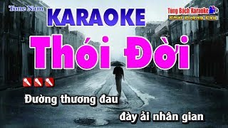 Thói Đời Karaoke HD - Nhạc Sống Tùng Bách