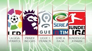Top 5 Football League Intro (Premier League, La Liga, Serie A, βundes Liga, Ligue 1) 2018/2019