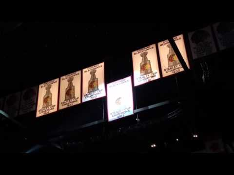 Banner Raising: 2015 Stanley Cup Champions Chicago Blackhawks