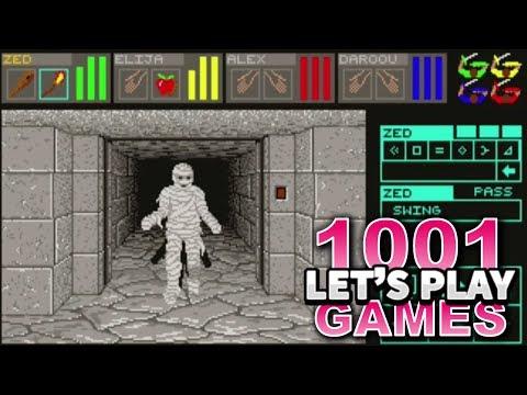 Dungeon Master (Atari ST) - Let's Play 1001 Games - Episode 203
