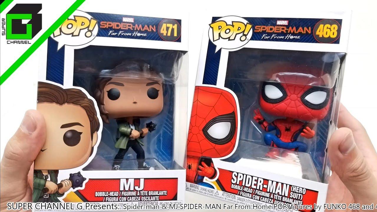 Spiderman Far From Home 471 Funko Pop MJ