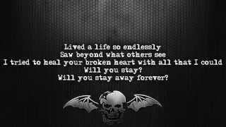 Avenged Sevenfold - So Far Away [Lyrics on screen] [Full HD]
