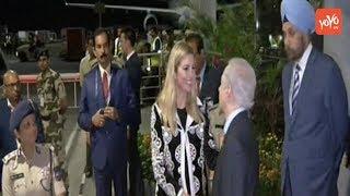 Ivanka Trump in Hyderabad | Ivanka Reaches Hyderabad to Stay in Trident Hotel | #GES 2017 | YOYO TV