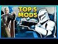 Top 5 Mods of the Week - Star Wars Battlefront 2 Mod Showcase #36