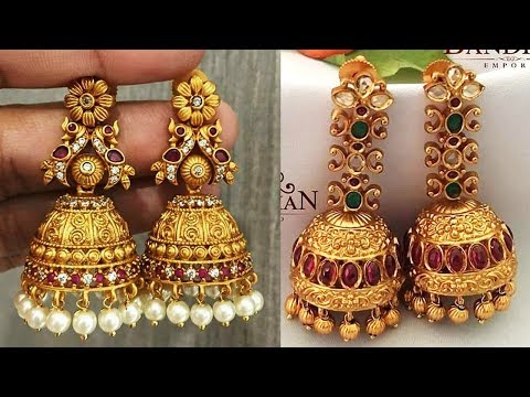 Traditional Jhumka Designs