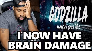 Eminem Topped Rap God Speed | Eminem - Godzilla (Lyrics) ft. Juice WRLD REACTION!!!