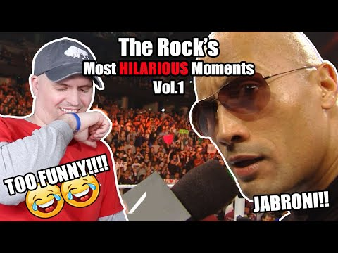 The Rock's Most Hilarious Moments || Vol 1 || Reaction || 😂😅😂