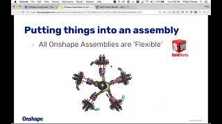Onshape Assemblies for Solidworks Users | Webinar (July 11, 2018)