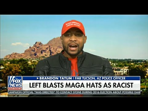 'I Hope I'm Triggering EVERY LIBERAL OUT THERE!' | Brandon Tatum Wears MAGA hat on Fox News