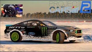 Project Cars 2 GoPro FUN Pack DLC - 900hp RTR Formula Drift Mustang   SLAPTrain