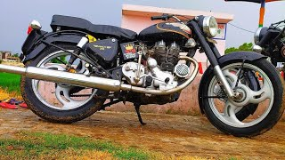 (part 178)Bullet Modified 350 standard and classic!Modified bullet in Punjab !!