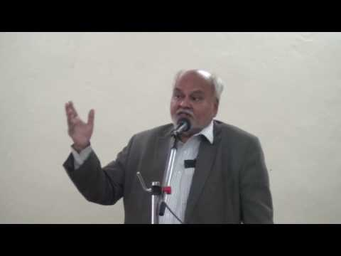 Dr. Vijay Bedekar speech at VPM's Polytechnic College, Thane