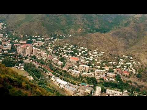 Amazing Armenia - Alaverdi City. Окрестности города Алаверди, Армения. Фантастический вид с дрона!