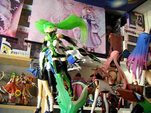 Chambre d 39 un fan de mangas youtube for Chambre otaku