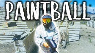 ME DISPARAN EN LA CARA EN PAINTBALL