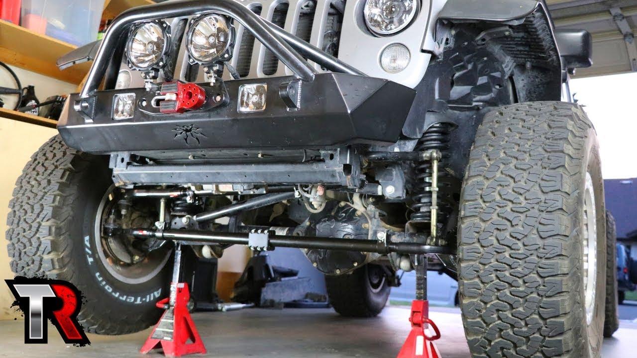 Jeep High Steer Linkage Install – Steer Smarts Yeti XD