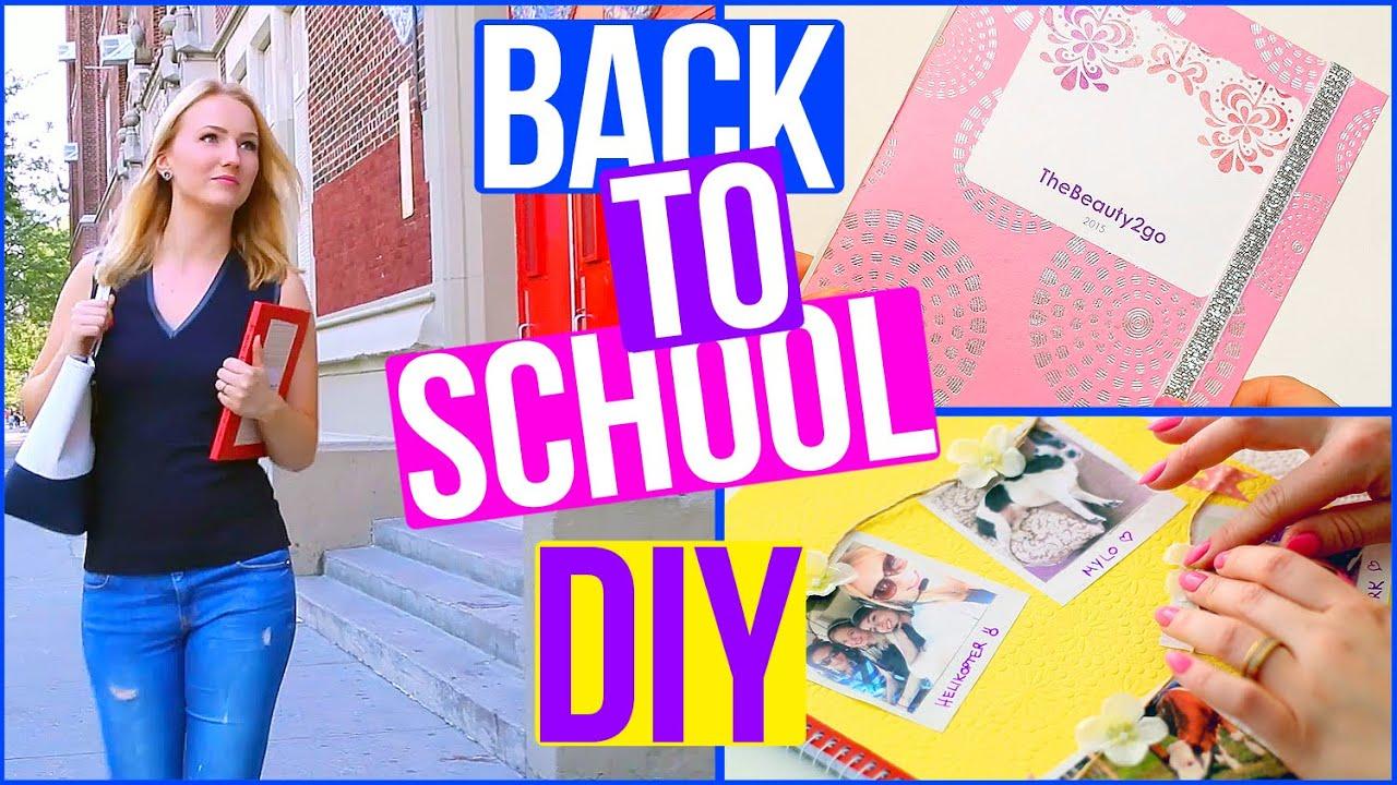 diy back to school planer collegeblock organisation thebeauty2go youtube. Black Bedroom Furniture Sets. Home Design Ideas