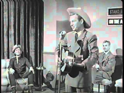 Rex Allen Sr. and Buddy Ebsen