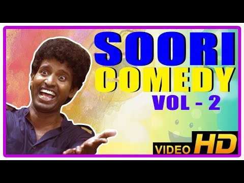 Soori Comedy Scenes | Soori Best Comedy Collection | Vol 2 | John Vijay | Jeeva | Udayanidhi