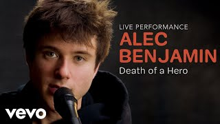 "YouTube動画:Alec Benjamin - ""Death of a Hero"" Official Performance 