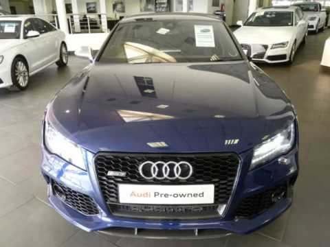 2014 audi rs7 4 0t v8 quattro auto for sale on auto trader south africa youtube. Black Bedroom Furniture Sets. Home Design Ideas