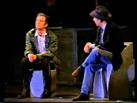 """Gene Gnocchi:""""Tutta questa struttura è suscettibile di modifica"""" Teatro Ciack,Milano,4 nov 1995"""