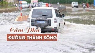 01:27 Quốc lộ 18 đoạn qua thành phố Cẩm Phả biến thành sông