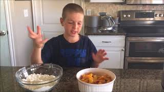 Instant Pot 3-Ingredient Peach Cobbler