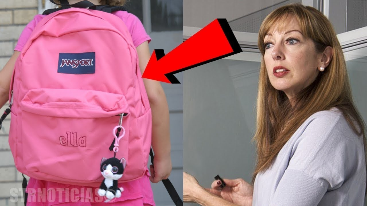 سمعت المعلمة صوت غريبا من حقيبة إحدى الطالبات و عندما فتحت الحقيبة كانت المفأجأة...