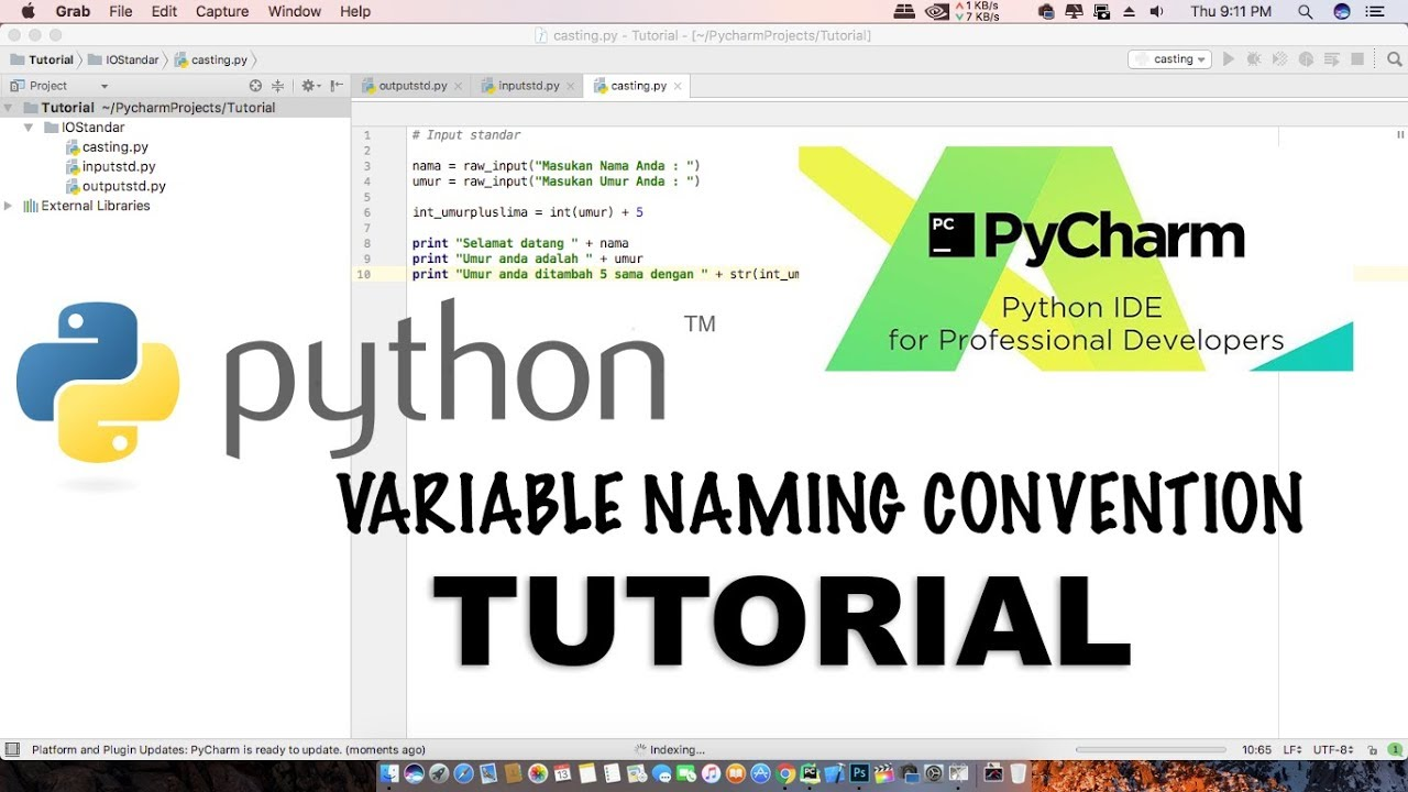 Naming Convention: Python : Variable Naming Convention