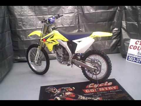 2008 Suzuki RMZ -250 - YouTube