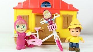 Maşanın Bisikleti Neden Kırıldı Heidi Peter ve Küçük Maşalar Koca Ayı Yeni Bölüm İzle