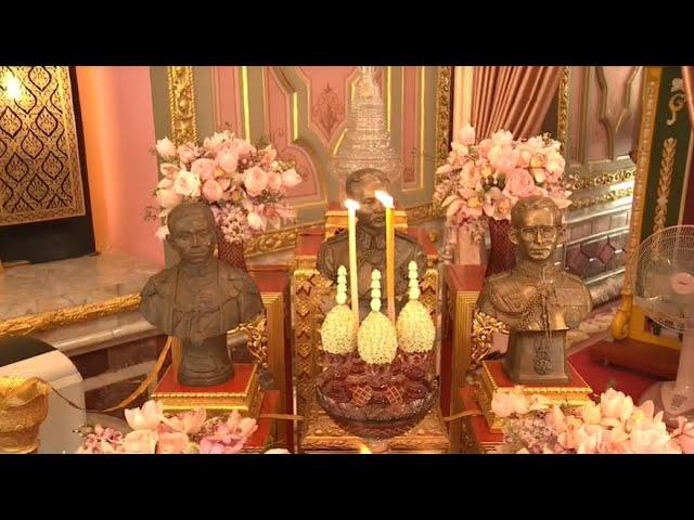 สมเด็จพระสังฆราช ทรงเททองหล่อพระพุทธรูปประจำพระชนมวาร ๒๒ ม.ค.๒๕๖๔
