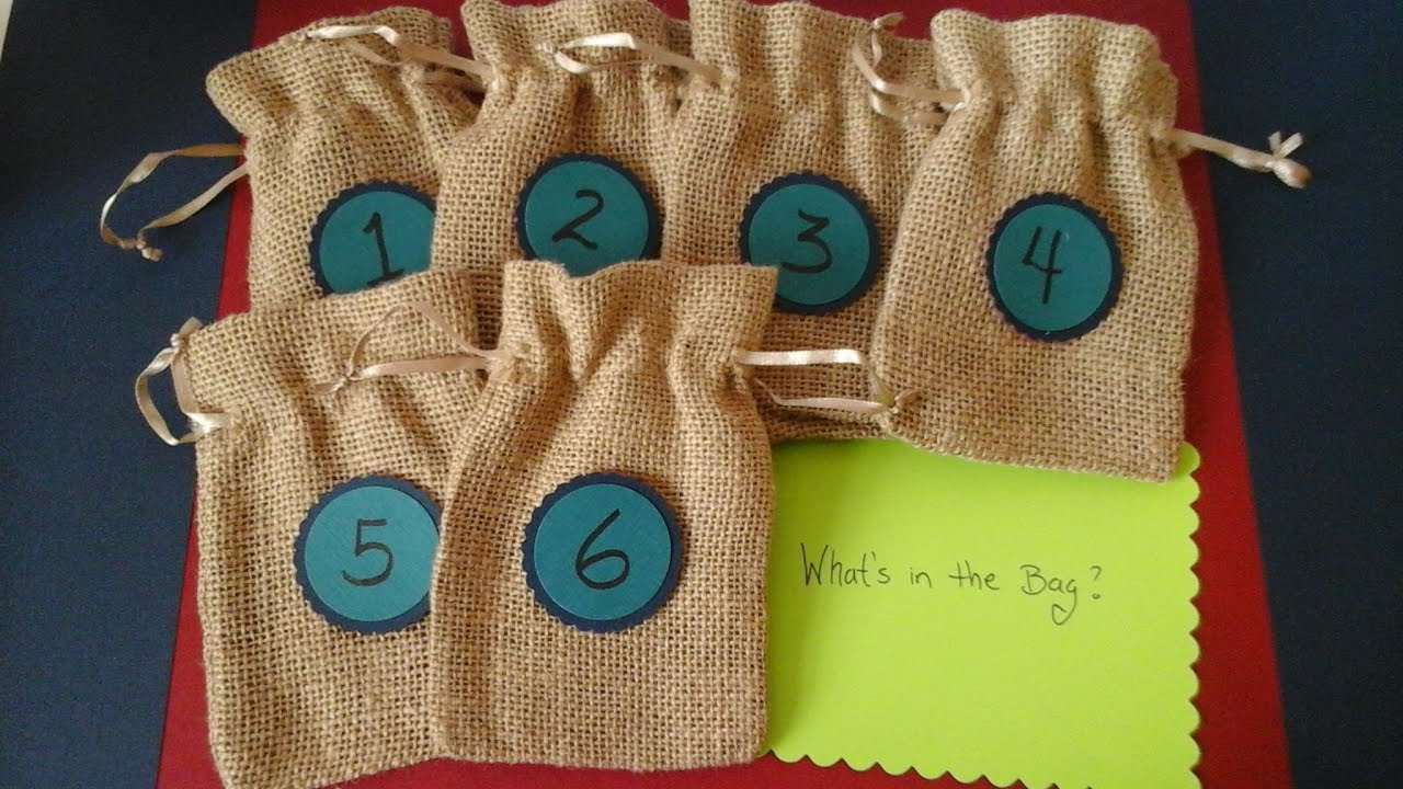 DIY Baby Shower Games - Mystery baby items game - YouTube