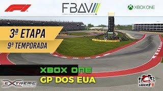 FBAV eSports :: F1 2017 [Categoria F1 Xbox One] GP dos EUA - 3ª Etapa - 9ª Temporada