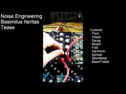 Noise Engineering  Basimilus Iteritas Tease