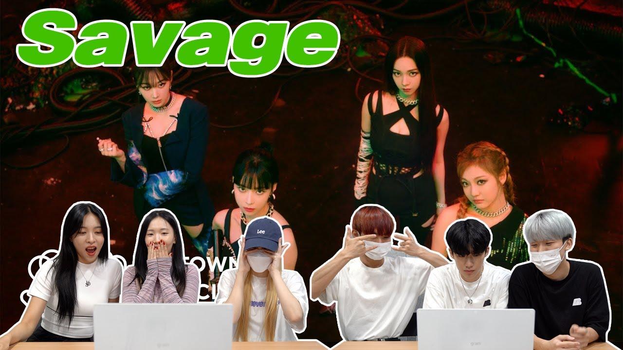 Download 에스파 'Savage' 뮤비를 보는 남녀 댄서의 반응 차이 | aespa 'Savage' MV REACTION