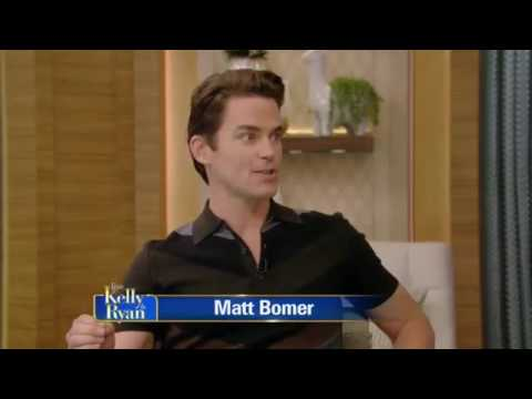 Matt Bomer Complete Interview on Live with Kelly and Ryan 2017