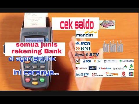 info saldo bank lain di edc agen brilink