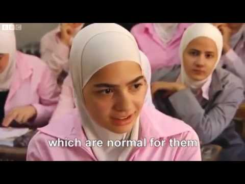 Syria when all religions got along until the west and their regime change((