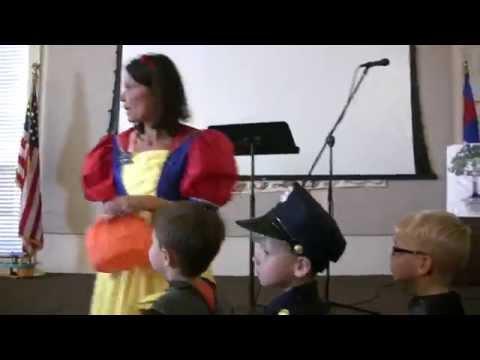 10/30/14 Kennedy's PreSchool Halloween Parade 2014 (Heathrow Christian Academy)