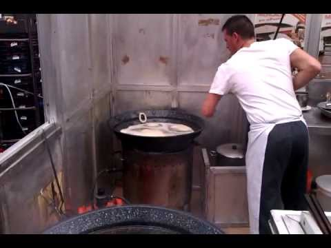 Breakfast in Spain... Churros!