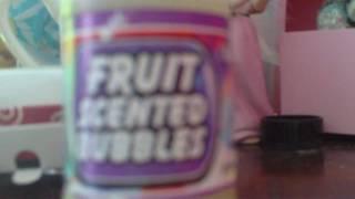 Fruit Scented Bubbles :)