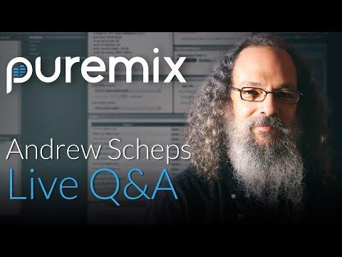 PureMix Mentors | Live Q&A Session | Andrew Scheps Grammy Award Winning Producer