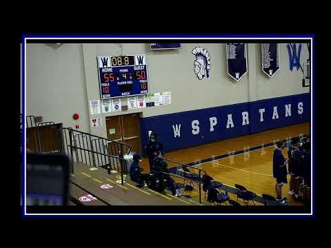 01/23/2021  JV/Varsity Boys Basketball WYOAREA VS. West York Area High School
