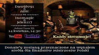 Heroes 3 HotA 2v2 showmatch - Dawidu & ABH vs Inomagic & Jelen117